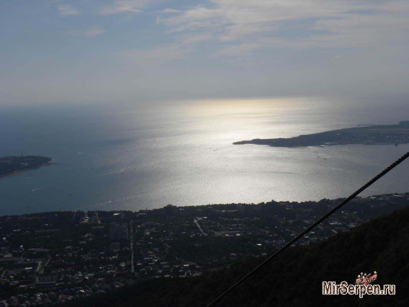 Вид на Геленджик из парка отдыха Олимп