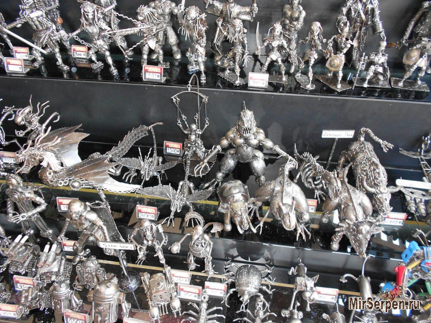 Photo of Шоппинг в Паттайе: Сувениры из железа
