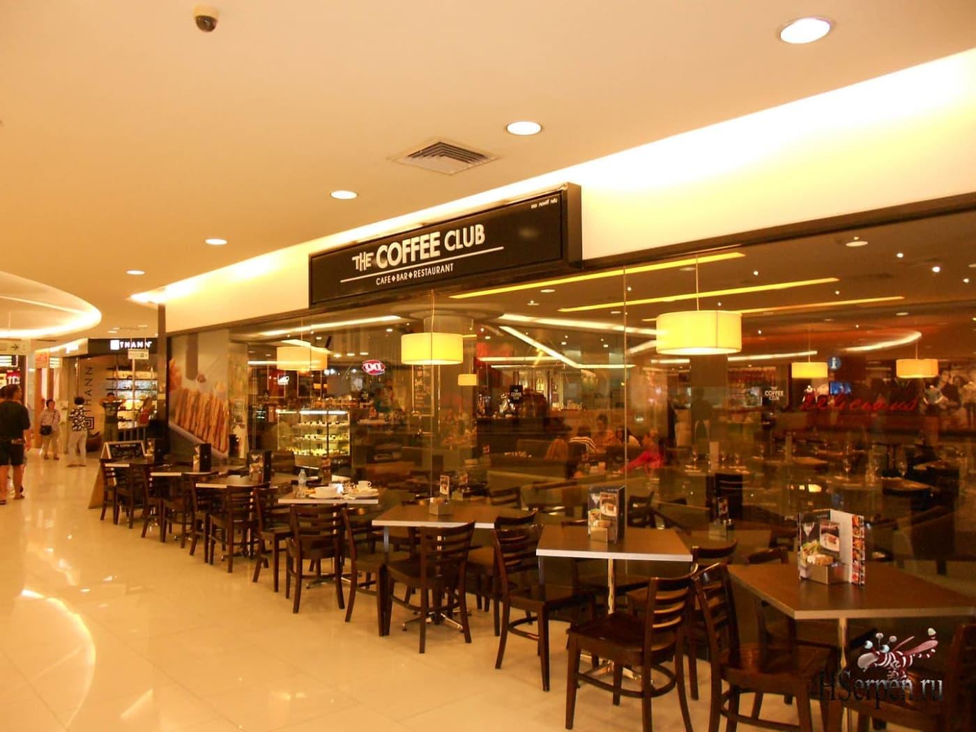 Кафе «Coffee Club», Паттайя, Таиланд