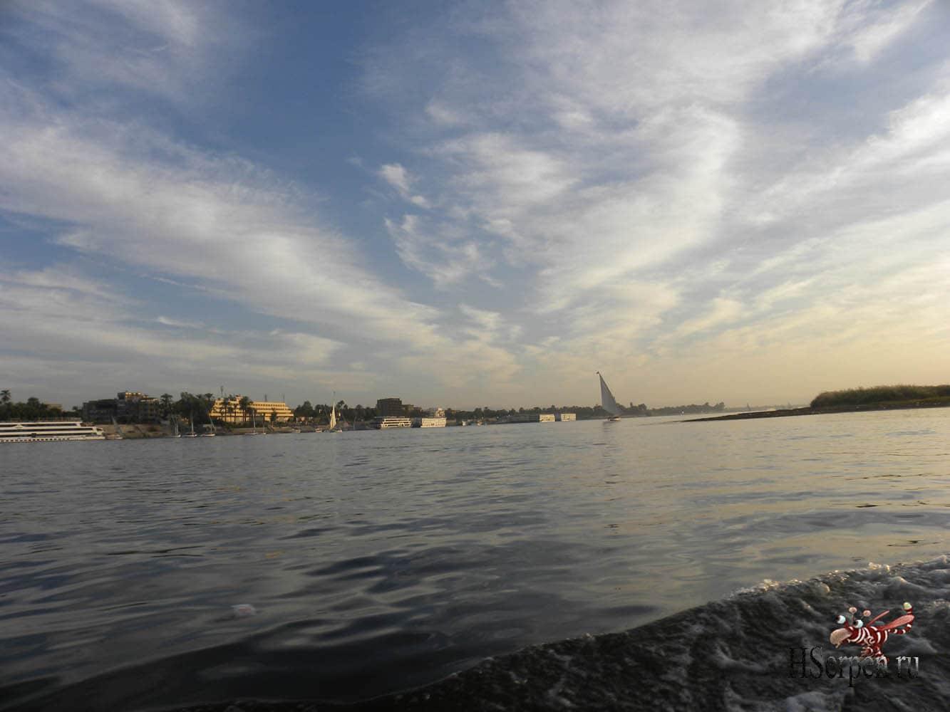 Великий Нил в Луксоре