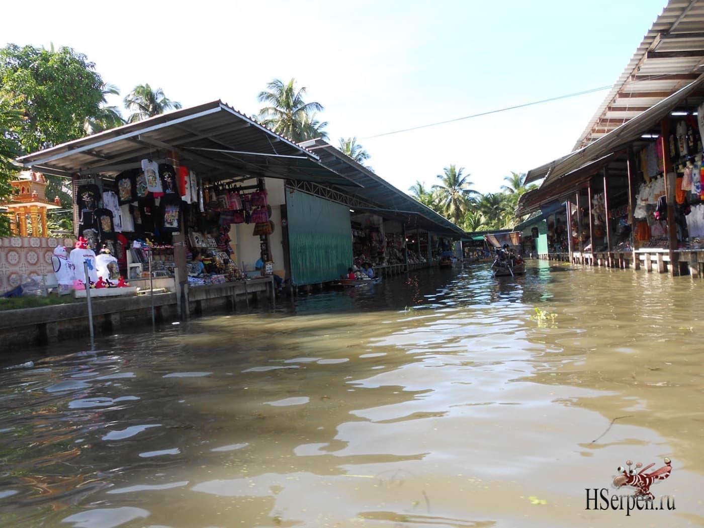 Photo of Плавучий рынок Damnoen Saduak, Бангкок