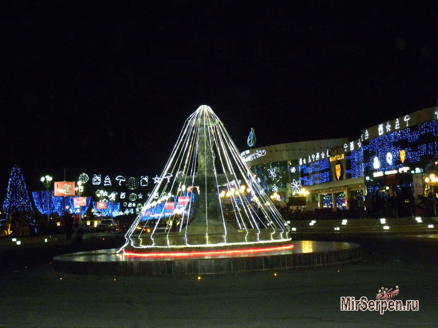 Празднование Нового года в Шарм-эш-Шейхе