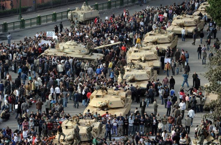 Отдых в Египте во время революции: ситуация в декабре 2012...январе 2013