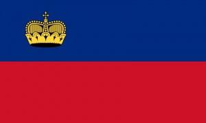 Флаг Княжества Лихтенштейн