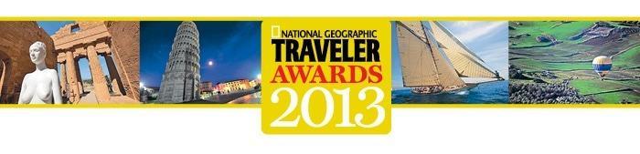 National Geographic Traveler Awards 2013