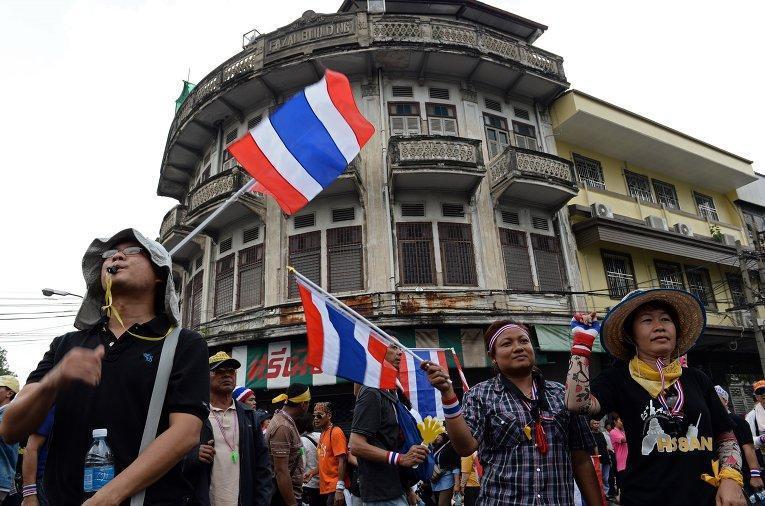Волнения в Бангкоке зимой 2013 и безопасность российских туристов