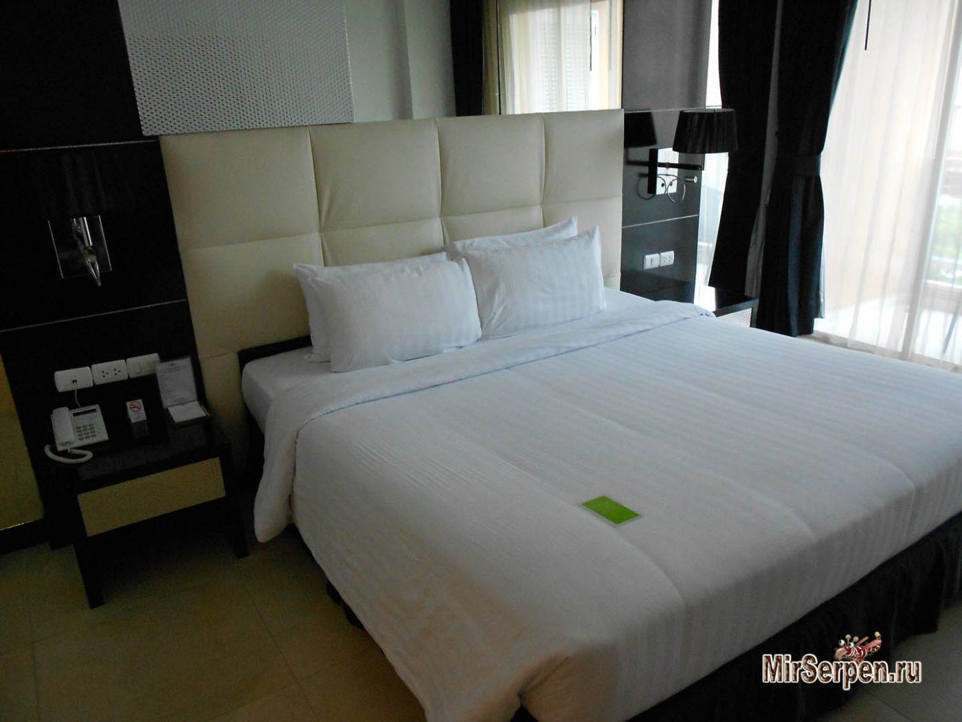 """Описание номеров тип """"DeLuxe"""" в отеле Amari Nova Platinum 4*, Паттайя, Таиланд"""