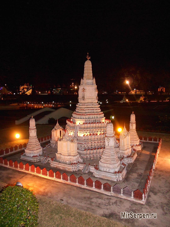 Лучшие экскурсии Паттайи: Мини-Сиам – мир в миниатюре
