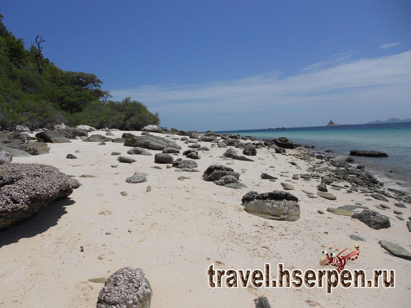 Фото дня: Пляж на острове Ko Phai, Сиамский залив возле Паттайи, Таиланд