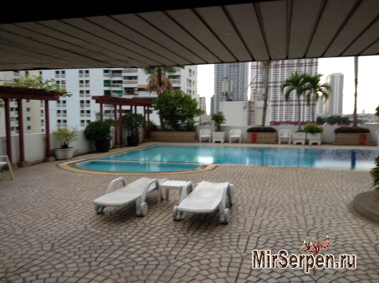 Общее описание отеля Baiyoke Suite Hotel 3*, Бангкок, Таиланд