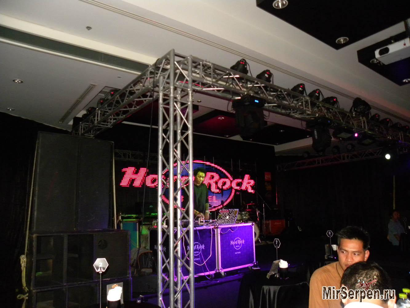 "Клуб ""Hall of Fame"" в отеле Hard Rock Hotel Pattaya 4*, Паттайя, Таиланд"