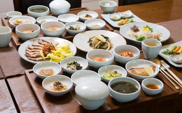 Неострые блюда корейской кухни