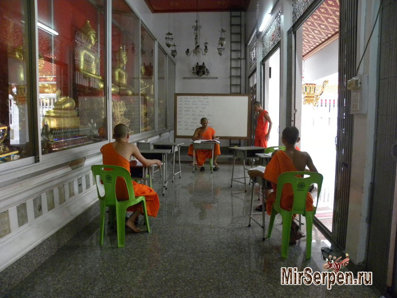 Фото дня: Буддийская школа в Бангкоке