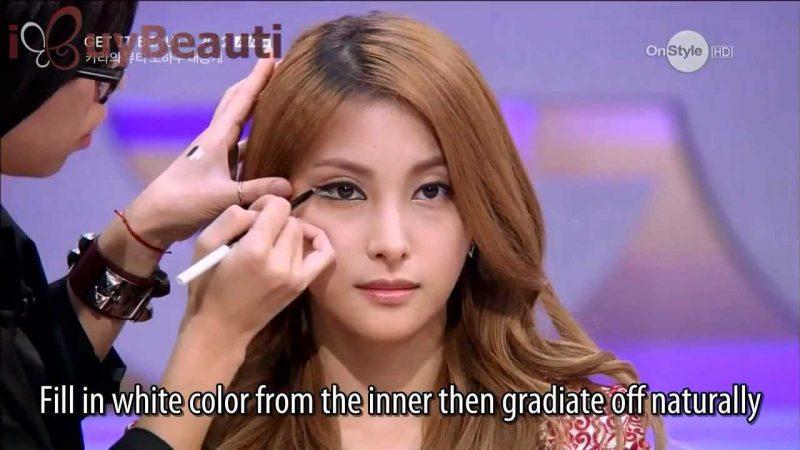 Звездный макияж от Park Gyuri из Kara