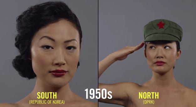 Photo of Разница в стандартах красоты женщин Северной и Южной Кореи за 100 лет