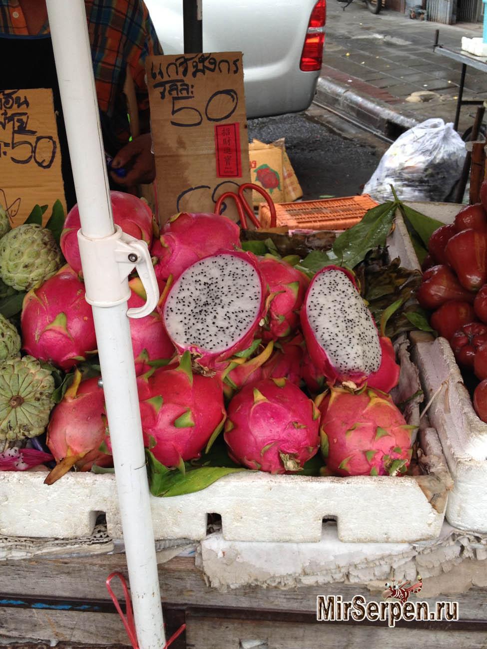 Таиланд: осторожно - соки и фрукты