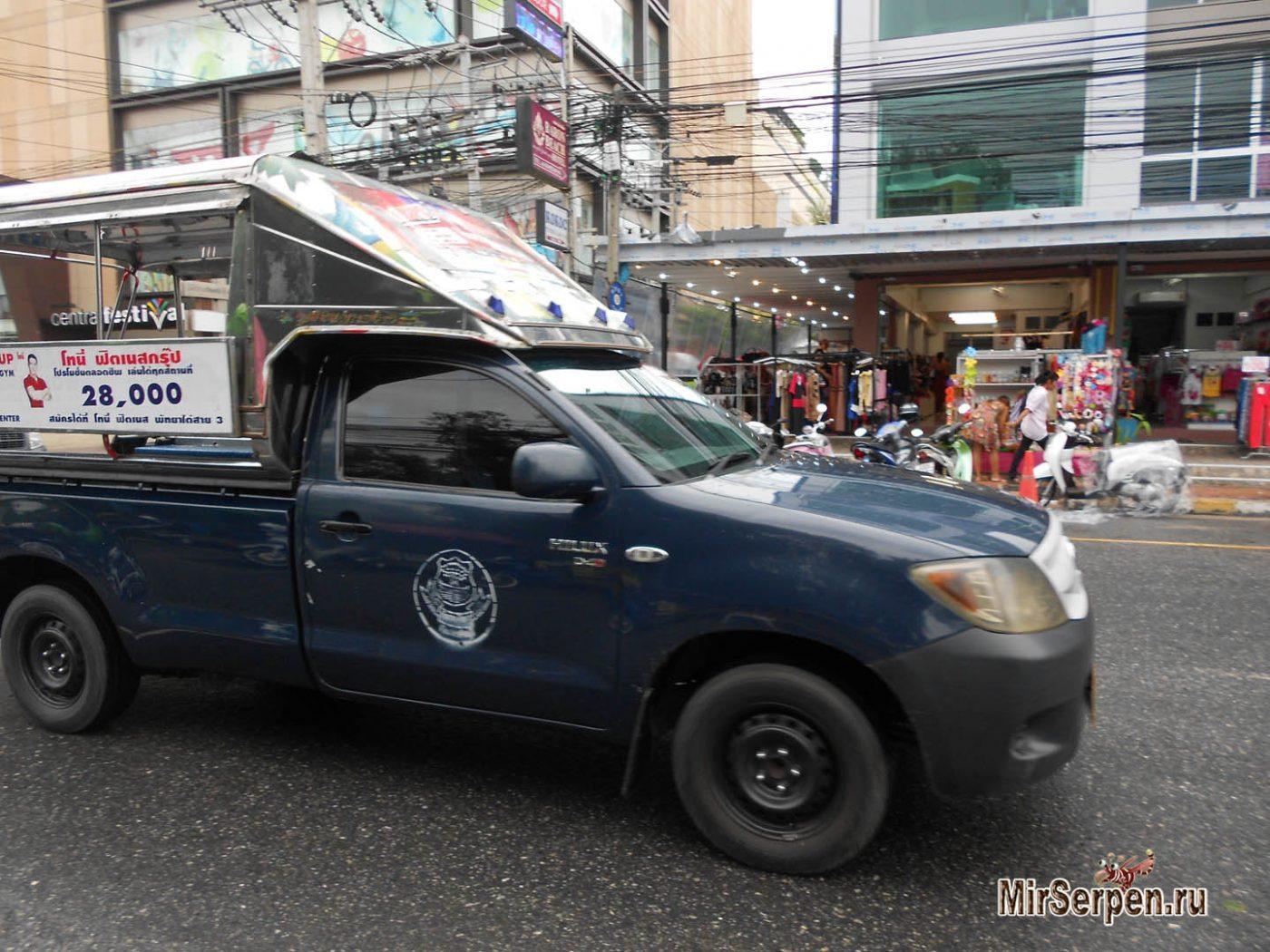 Обзор транспорта в Паттайе: тук-туки