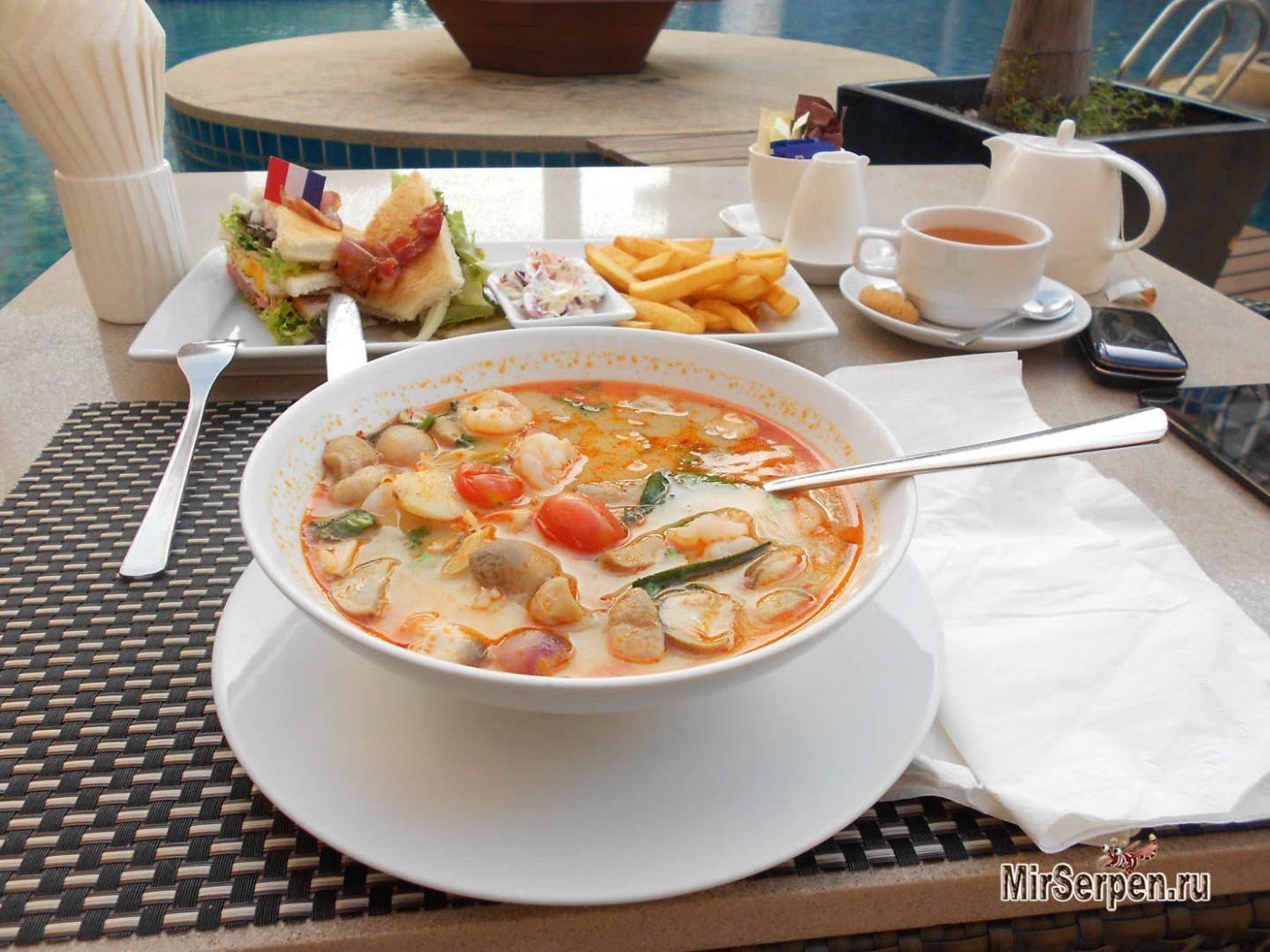 Где в Паттайе съесть лучший тайский национальный суп Том-Ям?