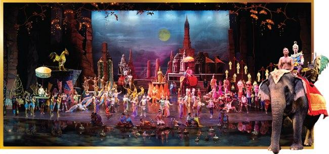 Photo of The Siam Niramit show в Бангкоке