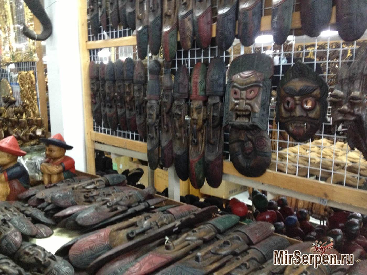 Шоппинг в Таиланде: Изделия из дерева