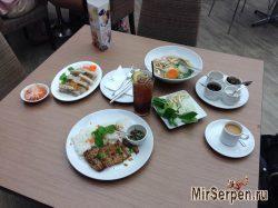 Первое впечатление от вьетнамской кухни