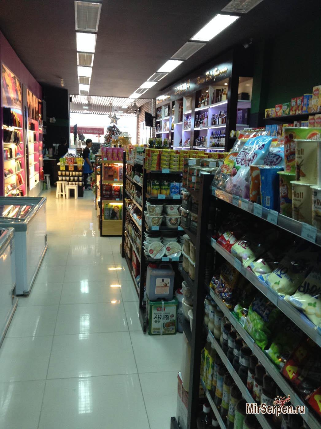 Магазин корейских товаров K-Market в Нячанге, Вьетнам