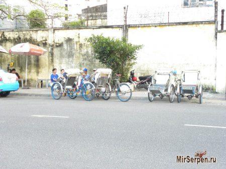 Проблемы с велорикшами во Вьетнаме