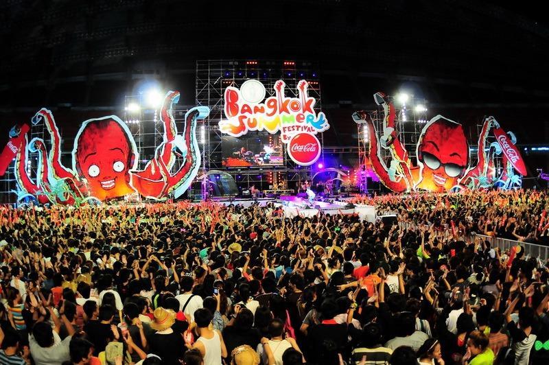 Фестивали, концерты и выставки в Таиланде