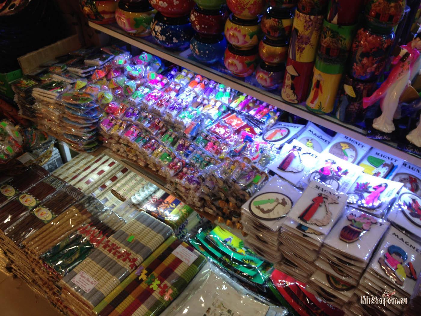 Магазины для русских туристов во Вьетнаме