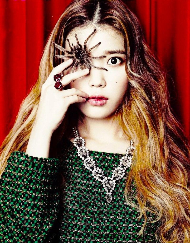 Про кореянок: Популярность певицы IU у корейских девушек