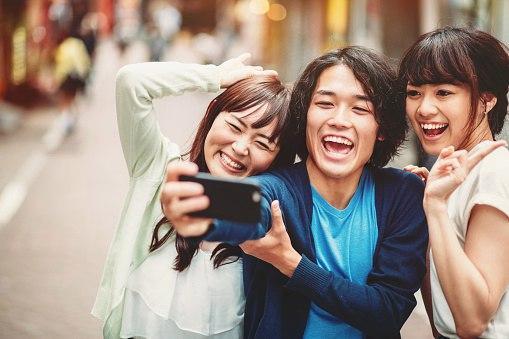 О характере японцев: Большая группа