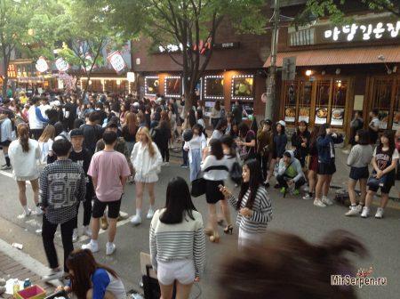 Про Южную Корею: Ночная жизнь по-корейски: Burn friday