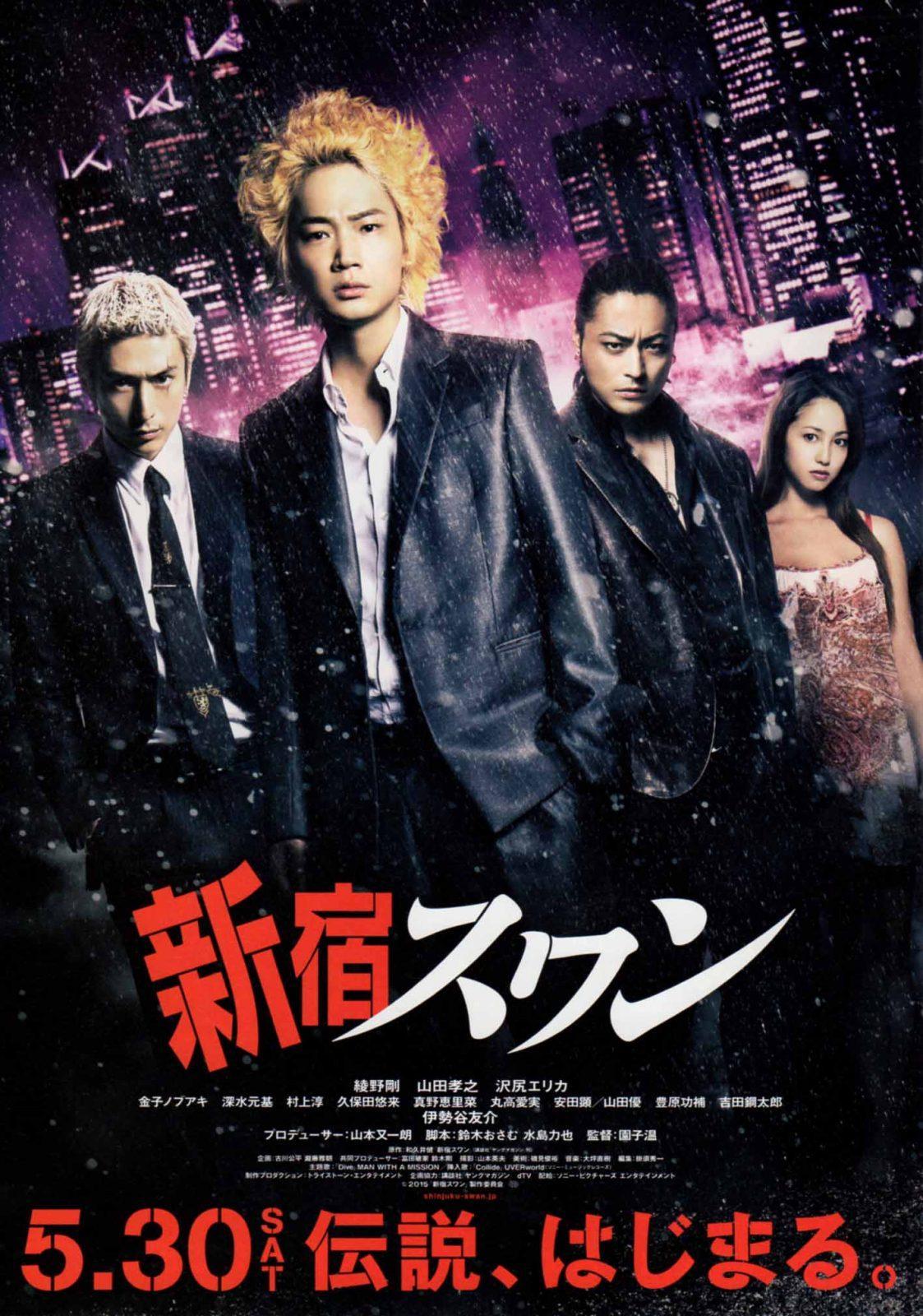 "Рецензия на фильм ""Лебедь из Синдзюку"" / ""Shinjuku suwan"""