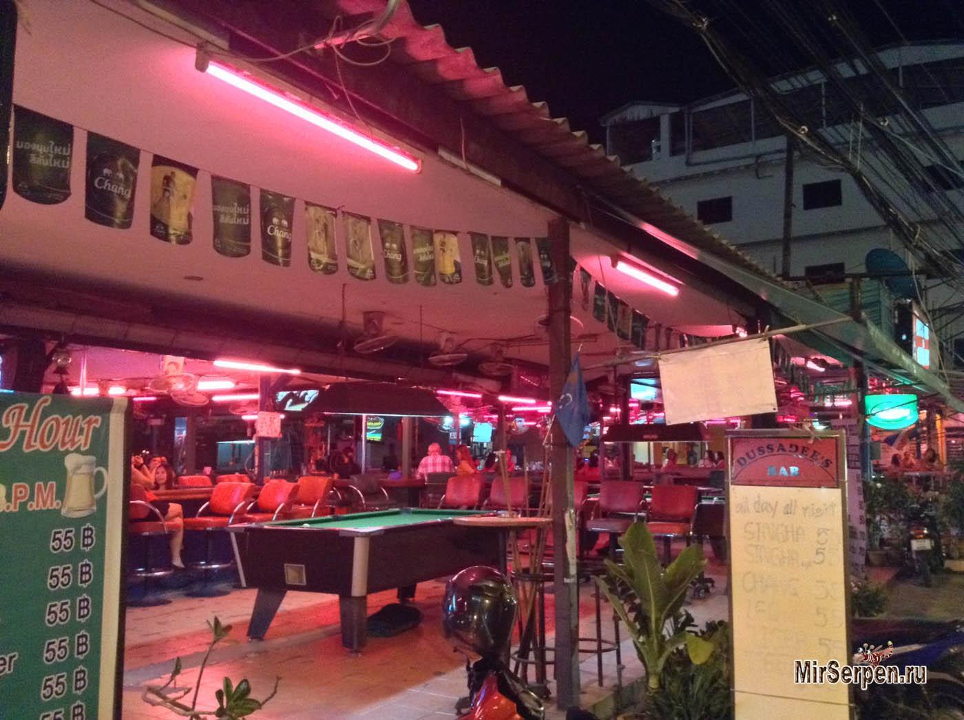 Тайские развлечения: Игра в бильярд