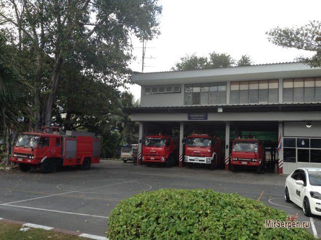 Про Таиланд: Оценка работы тайских пожарных на пожаре в Паттайе