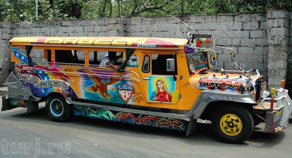 Джипни: национальный символ Филиппин