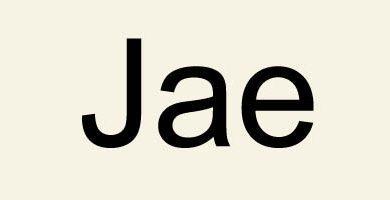 Photo of Слог Jae / 재 / Джэ
