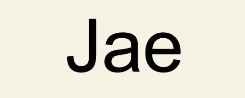 Слог Jae / 재 / Джэ в корейских именах