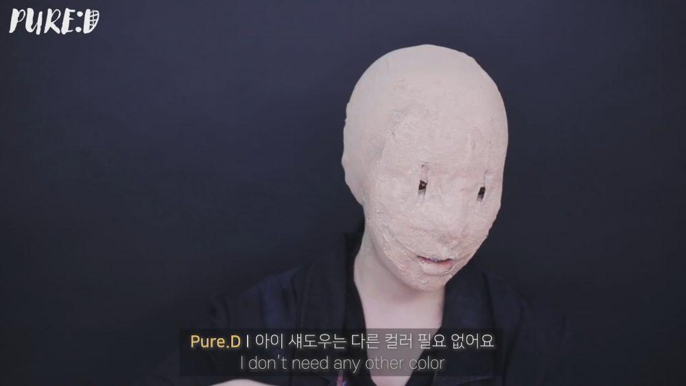 Адский впечатляющий корейский мейкап от PURE.D 퓨어디
