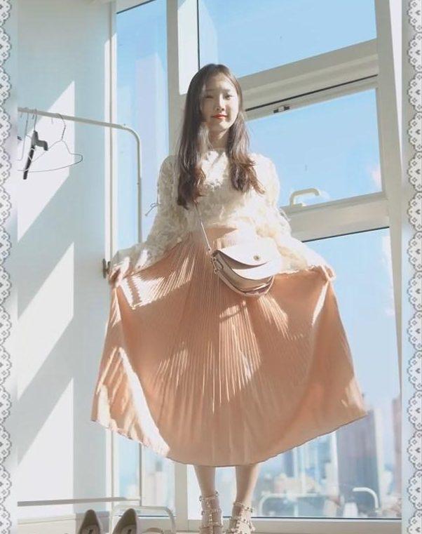 Корейский лук для лета 2020 от 퓨딩 pureding