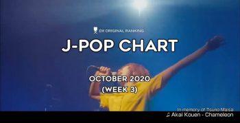 Топ-100 JPOP хитов в октябре 2020