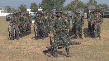 Проверка боеготовности тайских пехотных полков