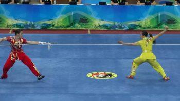 Потрясающее выступление китайской женской команды по Ушу