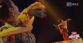 """Китайский традиционный танец под песню """"Молитва тысячелетия"""""""