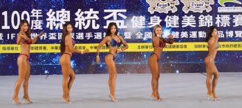 Соревнования по женскому бодибилдингу на Тайване