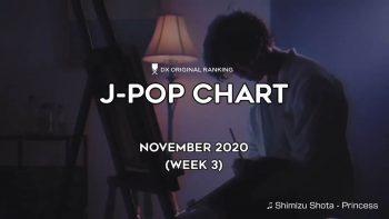 Топ-100 JPOP хитов в ноябре 2020