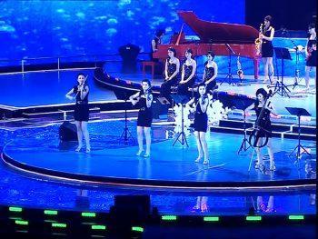 Новогодний концерт группы Moranbong Band, Северная Корея