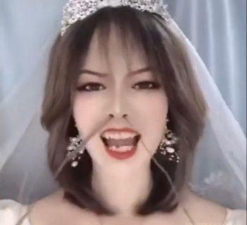 Азиатка до и после свадьбы