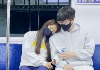 Корейская романтика в метро